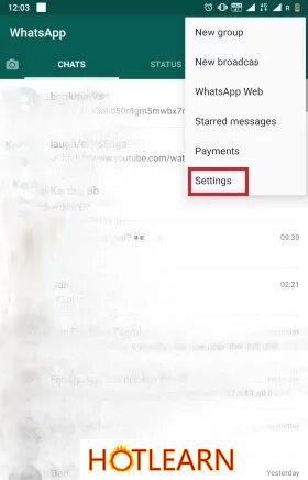 تنظیمات در گذاشتن و فالسازی قفل اثر انگشت در واتساپ